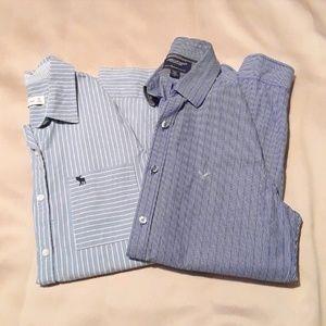 2 Button Down Shirts BUNDLE!